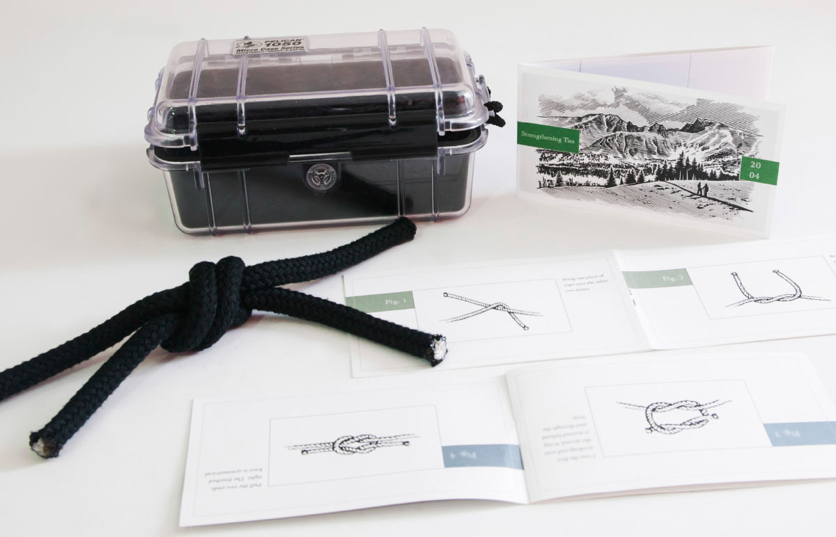 TransCanada Pipelines Strengthening Ties promotion comes with a water proof case and booklet